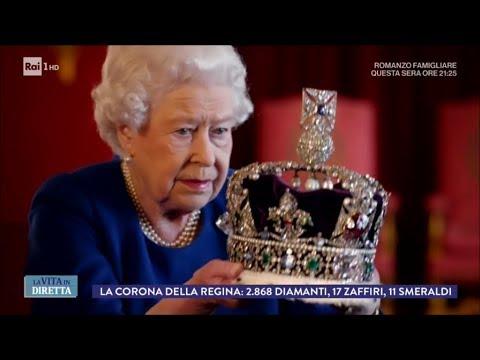 Regina Elisabetta: 'La corona è così pesante da spezzare il collo' - La Vita in Diretta 16/01/2018