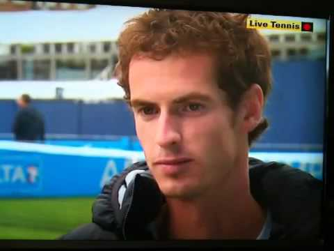 Andy Murray interview at Aegon Championships Queens 2011