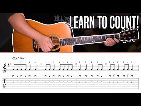 Learn To Count And Fix Your Pickstrokes - Alternate Picking Lesson