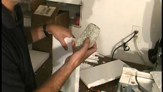 How to make a stone brick wall from polystyrene styrofoam tutorial