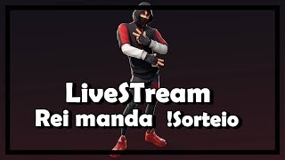 FORTNITE-! VBUCKS Raffle, KING MANDA!, IKONIK en route #LIVESTREAM #233