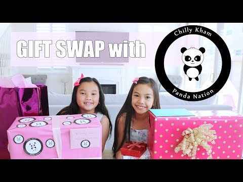 GIFT Swap with Panda Nation/Chilly Kham 🐼