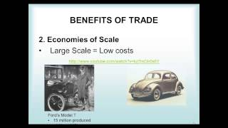 International Trade (Unit 7, Lecture 1)