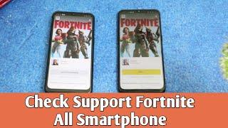 Cara Cek Support Game Fortnite di Smartphone Realme , Oppo , Samsung , Xioami dll