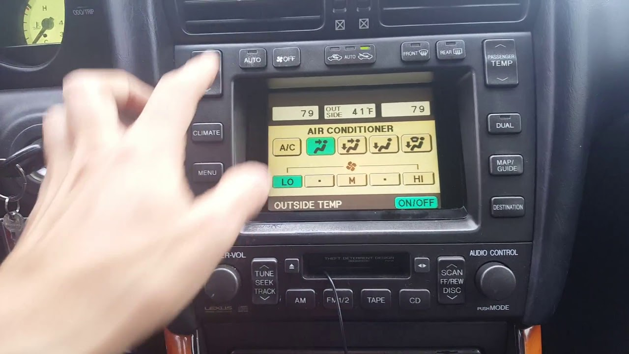 medium resolution of 2000 gs300 nav unit