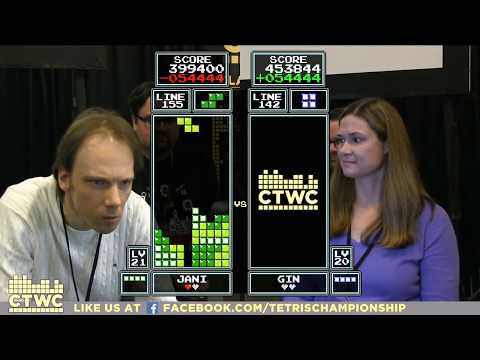 Top 32 - 2017 Classic Tetris World Championship Episode 1