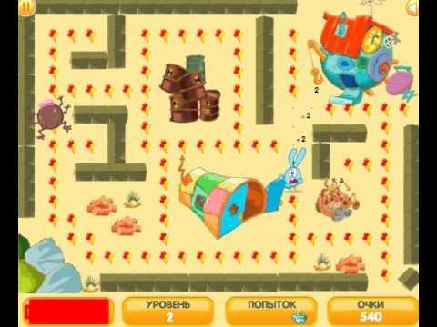 Детская Игра Мультфильм - Лабиринты для детей