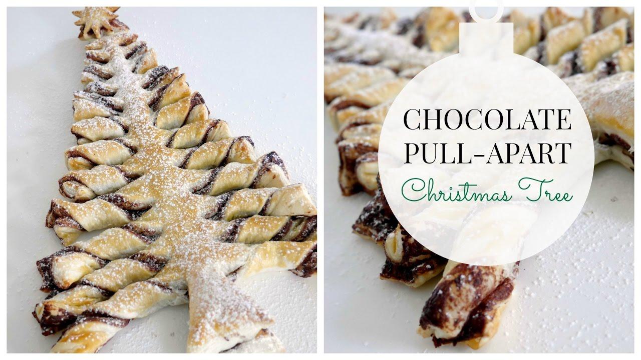 Chocolate Pull-Apart Christmas Tree Recipe