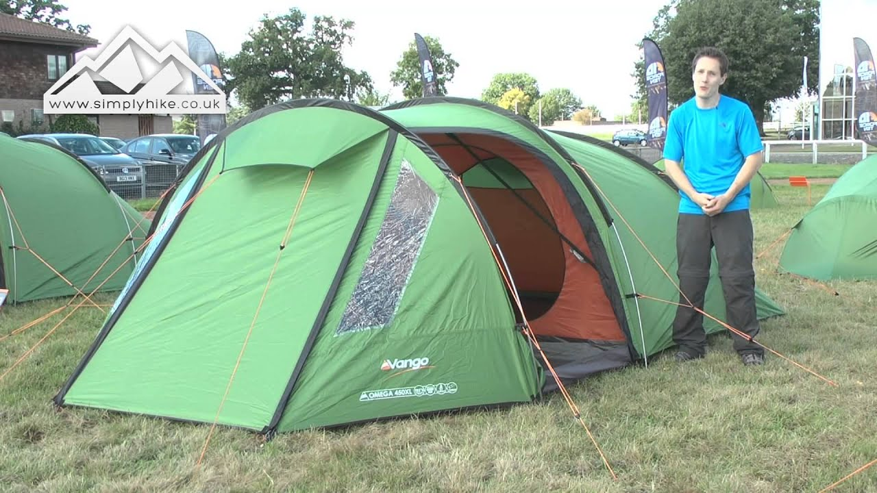 sc 1 st  YouTube & Vango Omega 450XL Tent - www.simplyhike.co.uk - YouTube