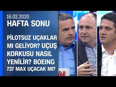 Tolga Özbek Ve Hüseyin Murat Ersoy, Art Arda Gelen Uçak Kazalarını Yorumladı - Hafta Sonu 16.02.2020