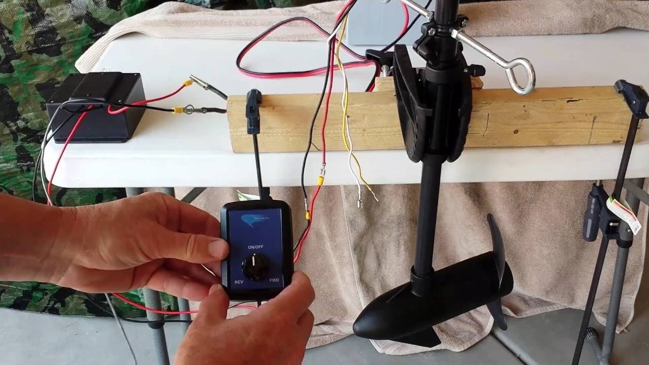 small resolution of wireless pro pwm set up and test for diy modified kayak trolling motor