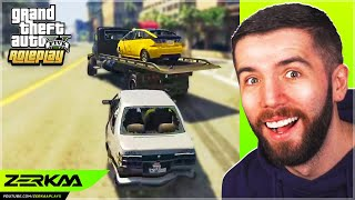Abdul's Taxi Gets STOLEN In GTA 5 RP!