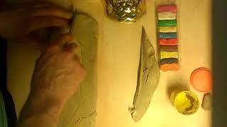 Plasticine Playing dough Pâte à modeler Jouer de la pâte Plastilina лепка Играем тесто