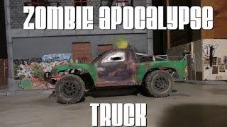 RC Zombie Apocalypse Truck Slow-mo
