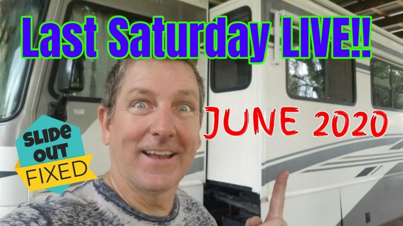 Last Saturday LIVE!! June 2020 4pm Pacific / 7pm Eastern