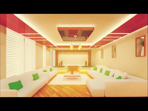 HOW TO DO INTERIOR DESIGN FOR LIVING ROOM IN 3DS MAX - PART 1