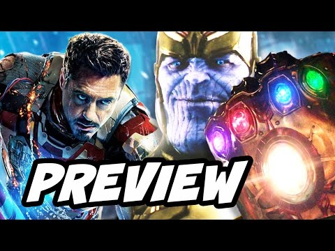 Avengers Infinity War Thanos Black Order Preview and Marvel Changes