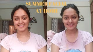 Summer Facial For All Skin Types At Home In Tel...