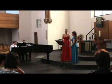 "L.Delibes ""Lakme"" Flower Duet. Nadja Knop und Katja Becker"
