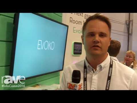InfoComm 2016: Evoko Launches Evoko Liso Room Manager