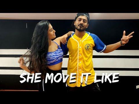 SHE MOVE IT LIKE L Badshah L Team Naach X NIMIT KOTIAN
