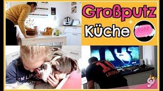 Großputz KÜCHE✨Familien WOCHENENDE XXL | FamilyVlog #242
