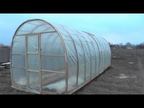 видео: Строим теплицу своими руками / Полное видео по постройке теплицы