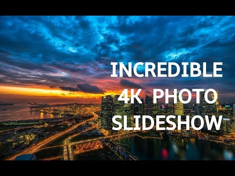 INCREDIBLE PHOTO SLIDESHOW IN 4K! Beautiful Art Photography Slideshow Screensaver | Silent Scenery