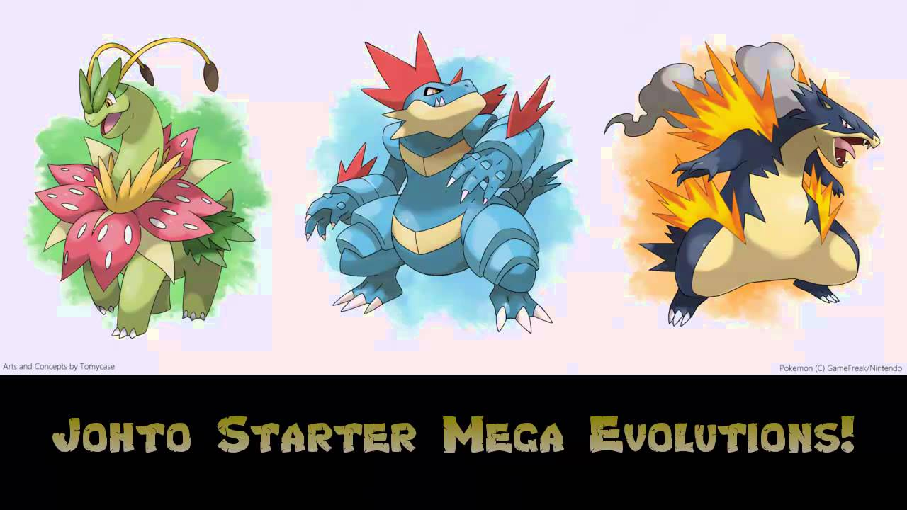 Johto Starter Mega Evolutions!? - Pokémon Omega Ruby and ...