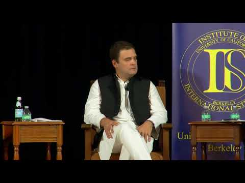 Congress VP Rahul Gandhi Interaction at UC Berkeley |Unedited and HD