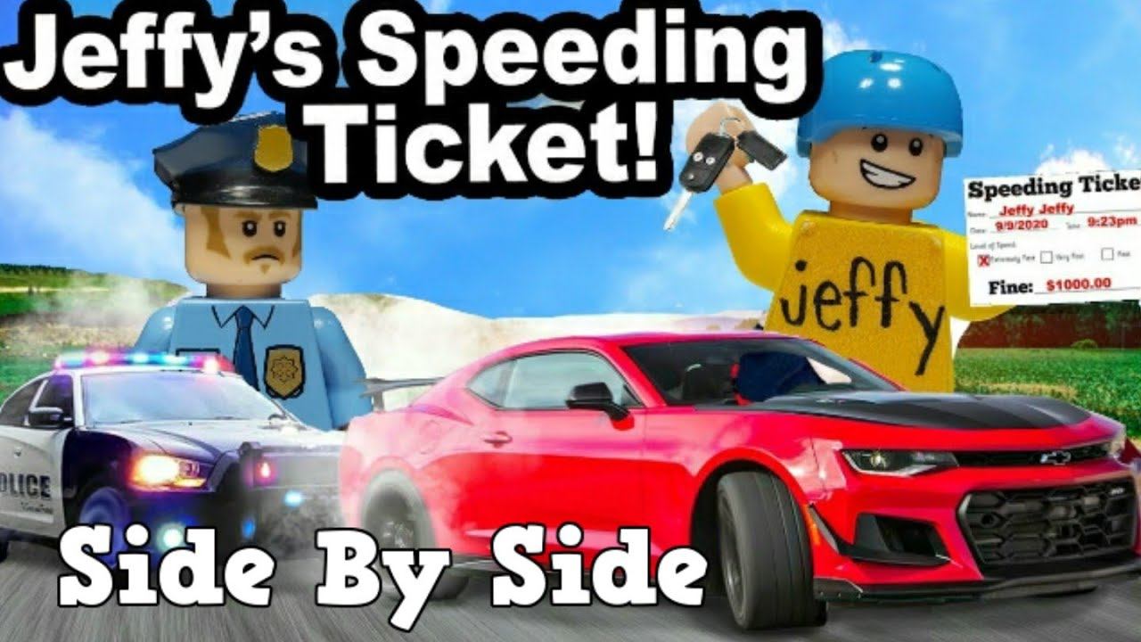 Lego SML: Jeffy's Speeding Ticket! (Side By Side)