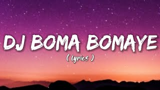 Download lagu DJ BOMA BOMAYE - GEO DA SILVA & JACK MAZZONI ( LIRIK)
