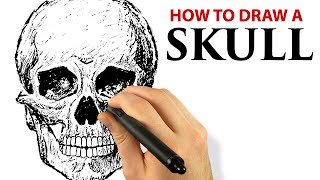 How To Draw A Skull - Digital Painting with Corel Painter