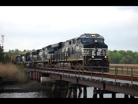 Freight Train in Cape May County! Very Rare CA-51 To Beesley's Point!!