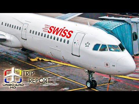 TRIP REPORT | Swiss | Business class | A321 Sharklets | Zurich - Vienna