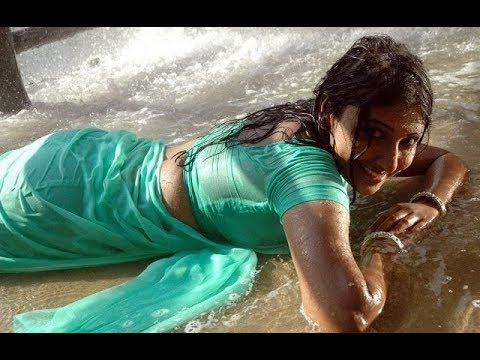 Monica hot song in tamil movie Gowravarkal   navel show in saree HD thumbnail