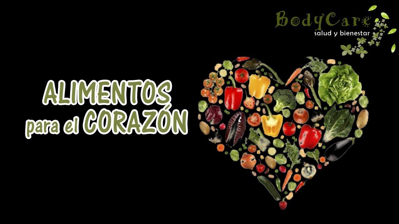 Alimentos para el corazón - YouTube