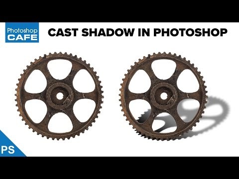 HOW TO CAST A SHADOW IN PHOTOSHOP - THE EASY WAY