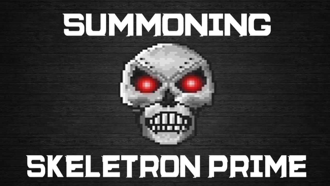 Terraria: How to Summon Skeletron Prime: Mechanical Skull [1.2.0.3] -  YouTube