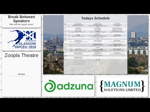 The Perl Conference in Glasgow - Day 2 - Zoopla Theatre