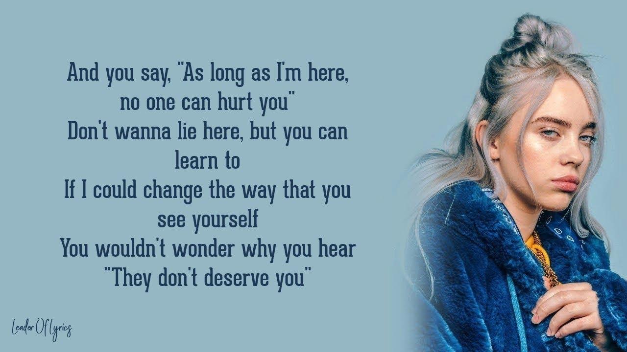 Billie Eilish - everything i wanted (Lyrics) - YouTube