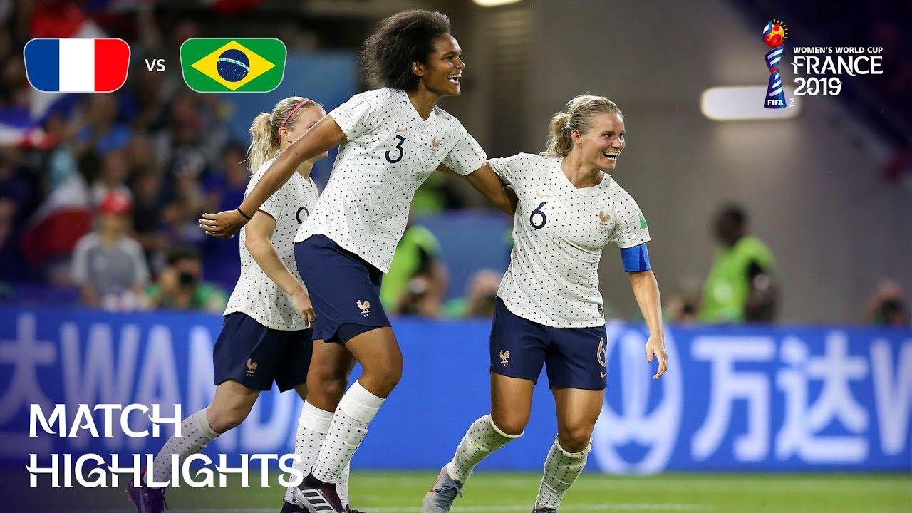 France vs Brazil 2-1