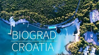 Biograd na moru in 4k | Pointers Travel DMC / Croatia vacation travel video guide / Kroatien