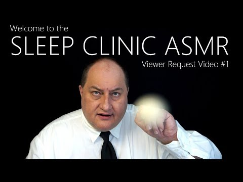 ASMR Sleep Clinic Registration Typing