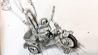 Sketching Juni