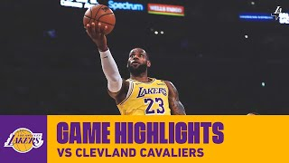 HIGHLIGHTS LeBron James 31 Pts 8 Ast 2 Reb Vs Cleveland Cavaliers