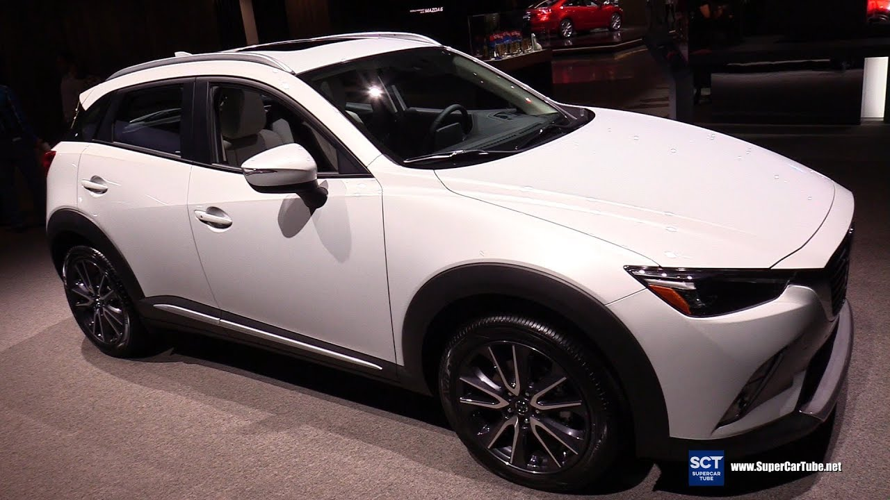 2018 Mazda CX 3   Exterior And Interior Walkaround   2017 LA Auto Show
