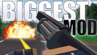 BIGGEST GUN MOD IN UNTURNED - Unturned Mod Showcase - Unturned 3.16.4.0