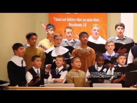 2016 Central Valley Christian Academy Thanksgiving Program