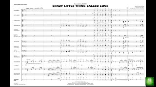 Crazy Little Thing Called Love by Freddie Mercury/arr. Richard L. Saucedo